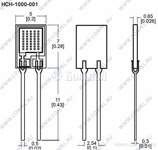 Чертеж HCH-1000-001