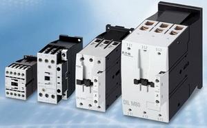 Контакторы серии DILM для запуска двигателей от 20 до 170 А