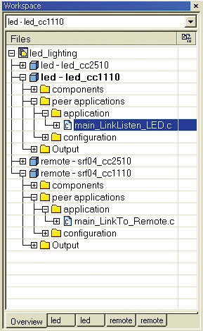 Проекты в IAR Embedded Workbench