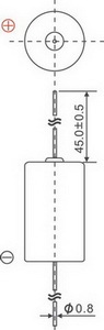 Варианты выводов для цилиндрических батарей