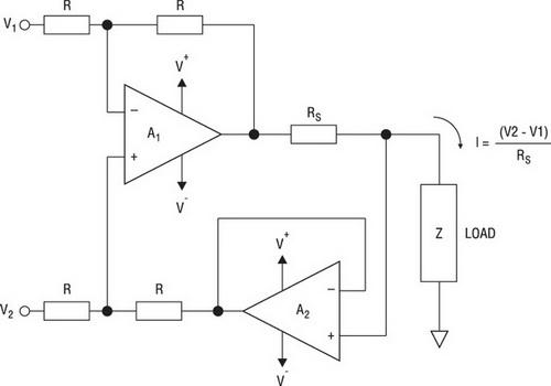 Прецизионный источник тока с