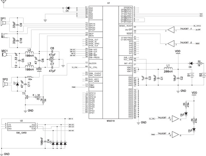 хост-контроллером по UART1