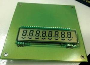 Чертеж и готовый заказной дисплей Yes Optoelectronics