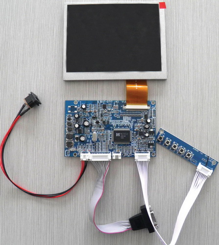 контроллера + ЖК-панель +
