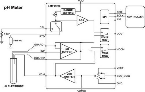 схема включения LMP91200