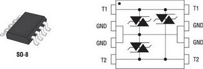 Внешний вид и назначение выводов ETP01-xx21
