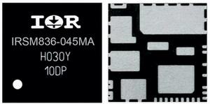 Внешний вид модуля IRSM836-045MA (корпус PQFN 12х12 мм) International Rectifier iMotion 1