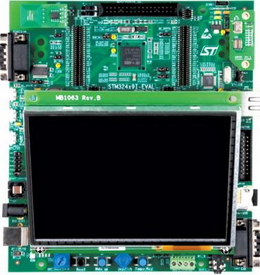 Оценочный набор STM32439I-EVAL
