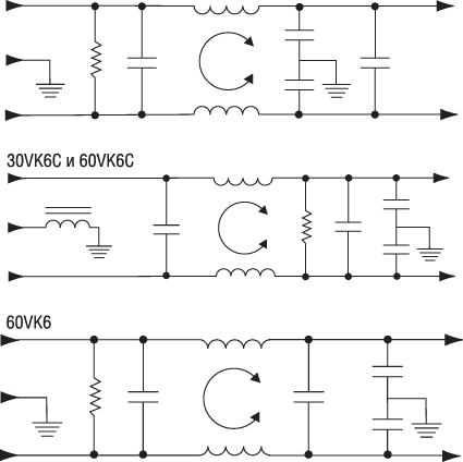 Электрическая схема фильтра