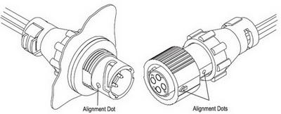 Ключи и позиционирующие маркеры на корпусах MiniCPC