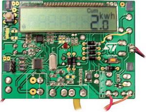 Оценочная плата для электросчетчика STM8L152 + STPM10