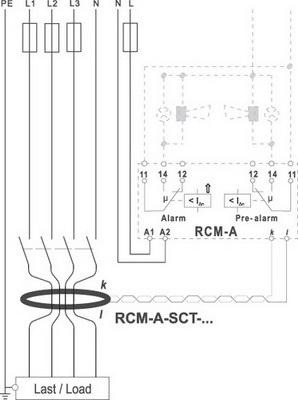 Схема установки устройства типа А